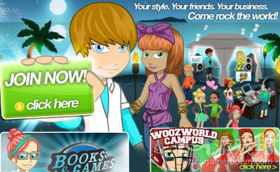 Woozworld(from venturebeat)