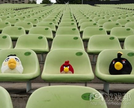 Angry Birds in Stadiums(from games.com)