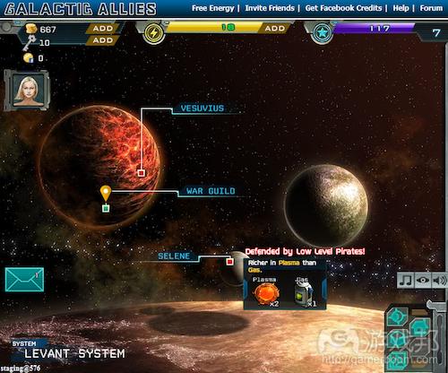Galactic Allies(from insidesocialgames)