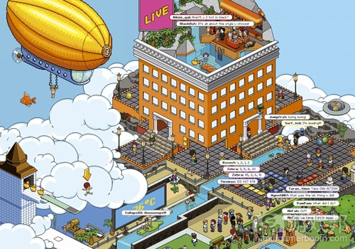 Habbo Hotel(from prweb.com)