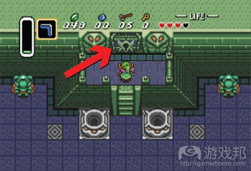 The Legend of Zelda A Link to the Past(from gamasutra)