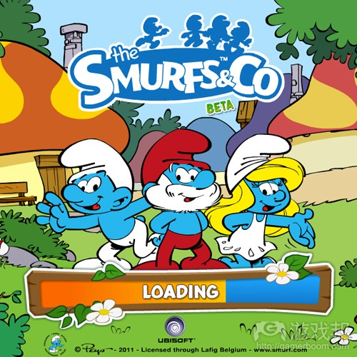 The Smurfs & Co(from games)