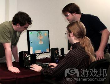 game development team(from becker.edu)