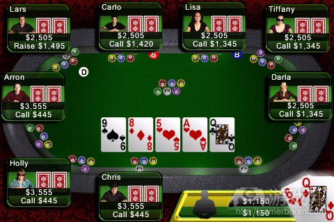 Texas Hold'em(from itunes.apple.com)