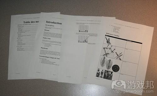 game design document(from quebarium.com)