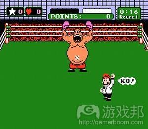 《PunchOut》中的King Hippo的动作反映了其个性及游戏玩法(from gamasutra)