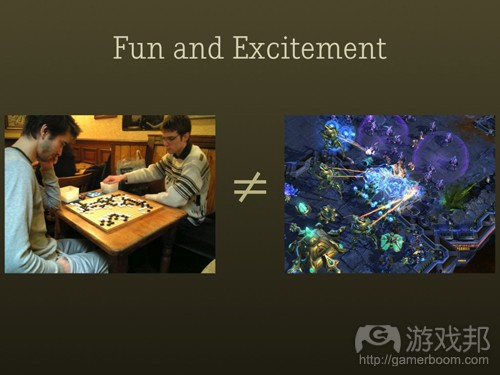 Fun and Excitement(from gamasutra)