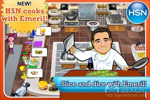 HSN Cooks with Emeril(from gamezebo)