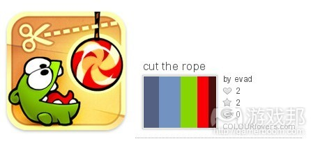 Cut The Rope color from colourlovers.com