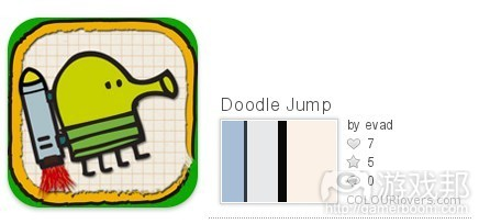 Doodle Jump color from colourlovers.com