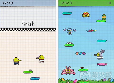 Doodle Jump from colourlovers.com