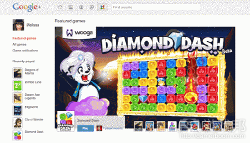 Google+(from gamezebo)