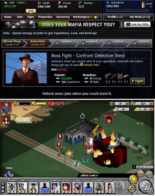 Mafia Wars & Mafia Wars 2(from insidesocialgames)