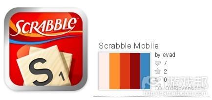 Scrabble color from colourlovers.com
