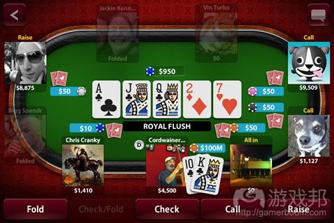 Zynga Poker from tapscape.com