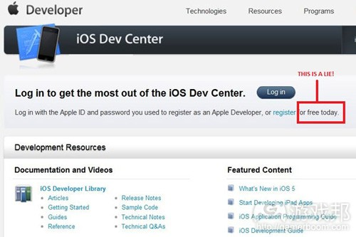 iOS Dev Center(from gamasutra)