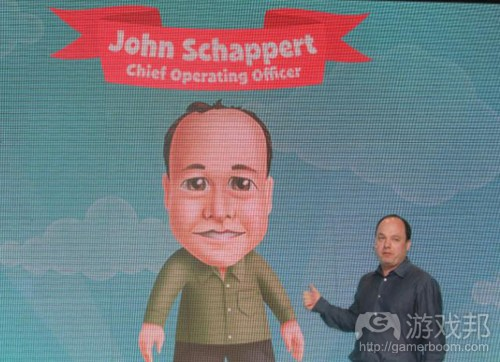 John Schappert(from venturebeat)