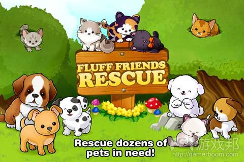 Fluff Friends Rescue(from itunes.apple.com)