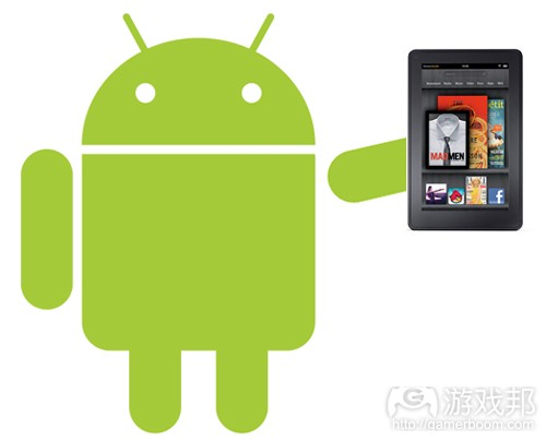 Android-Holding-Kindle-Fire(from kindlefirewire)