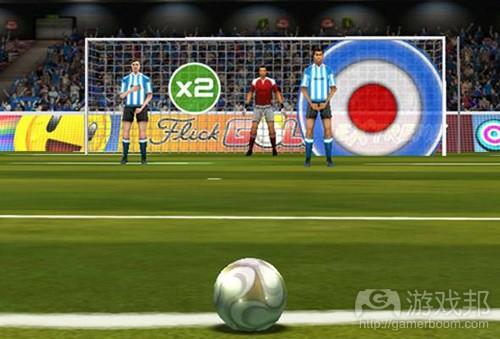 Flick Soccer!(from PCWorld)