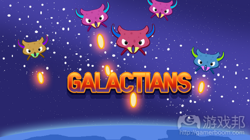 Galactians from spacemonsters.co.uk