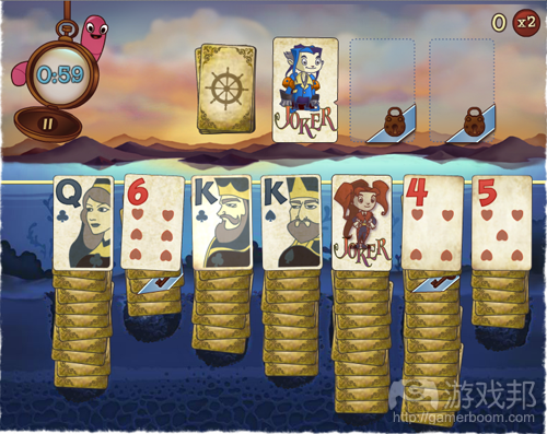Solitaire Blitz(from games)