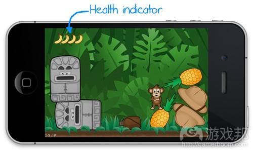 health indicator(from raywenderlich)
