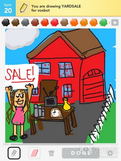 Draw Something from allfacebook.com