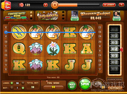4)��ludia���稿�����facebook�����烘父����the price is right slots
