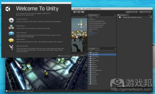 Welcome To Unity 2(from raywenderlich)