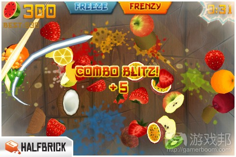 fruit ninja(from macstories.net)