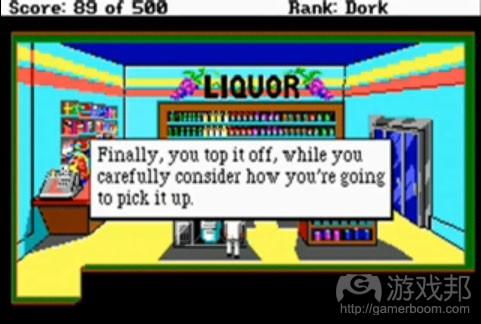 leisure Suit Larry II(from untoldentertainment)