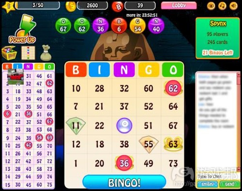 Bingo Bash(from juegosgratis42)