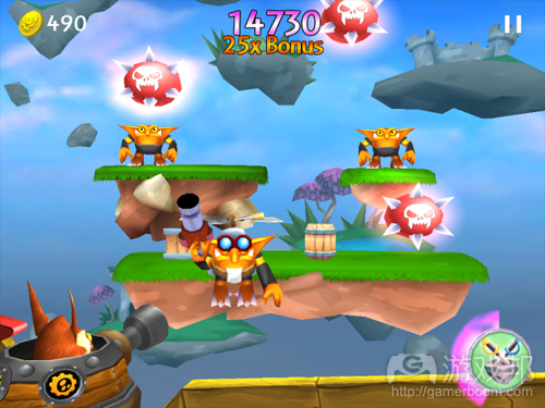 Skylanders:Cloud Patrol(from insidemobileapps)