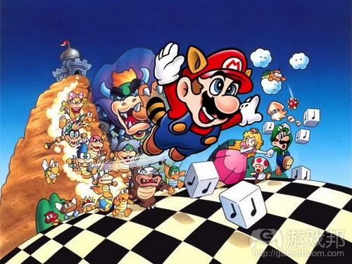 Super Mario Bros from dan-dare.org