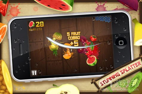 fruit ninja(from halfbrick.com)