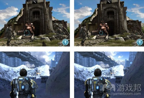 iPad 2 vs new iPad version(from gamesindustry)