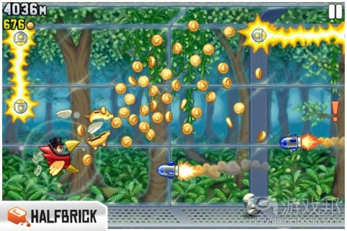 Jetpack Joyride's Profit_Bird(from gamesindustry)