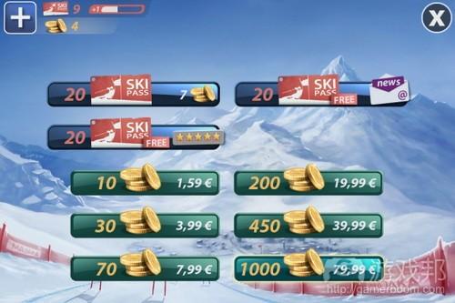 Coin包 &  Ski Pass from gamasutra.com