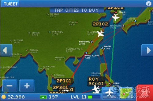 Pocket Planes (from insidemobileapps)