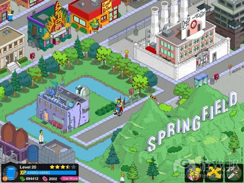 simpsons tapped out(from appadvice.com)