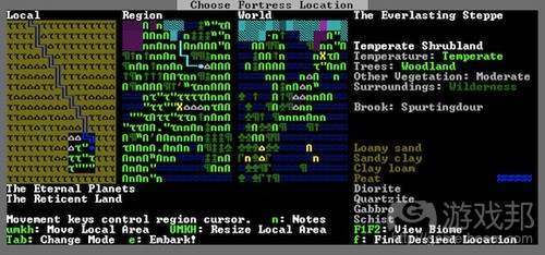 Dwarf Fortress(from gamaustra)