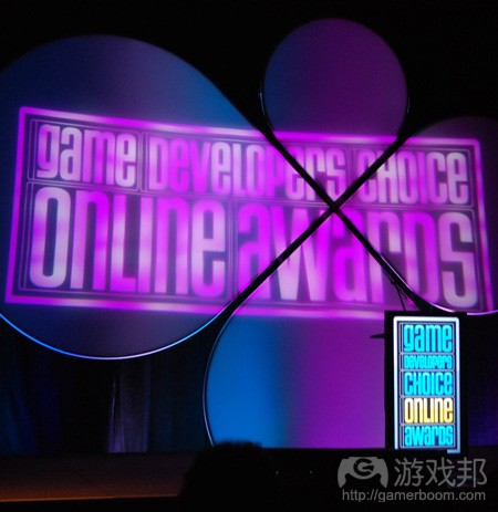 GDC online awards (from games)