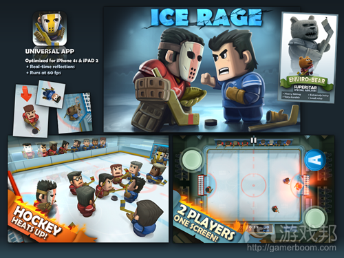 Ice Rage(from forums.toucharcade.com)