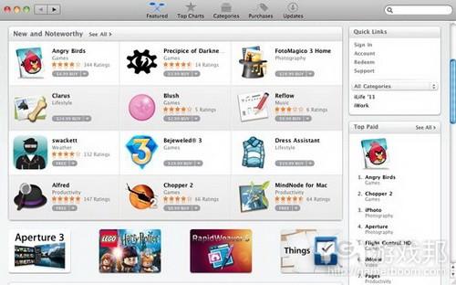 Mac App Store from popsci.com