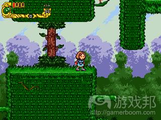 """Lorain森林中有秘密通道,但只有Mia学会如何""""跳墙""""后,她才能取得某些重要"""