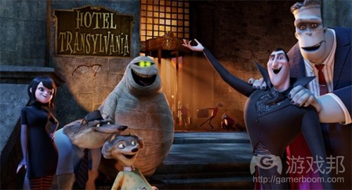 hotel transylvania(from games)