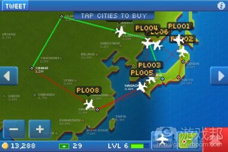 ios nimblebit pocket planes map from pocketgamer.biz