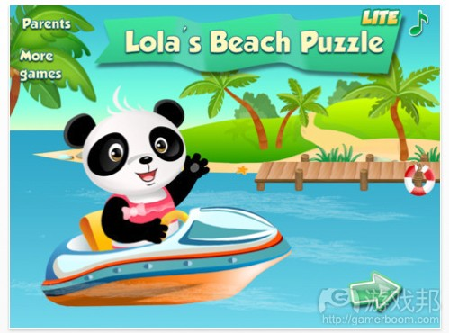 Lolas Beach Puzzle(from theappwhisperer.com)
