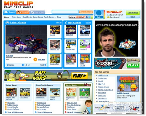 Miniclip(from crunchbase.com)